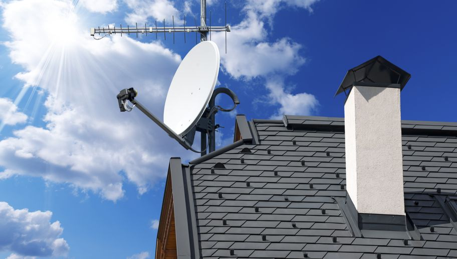 Satelita na dachu 2